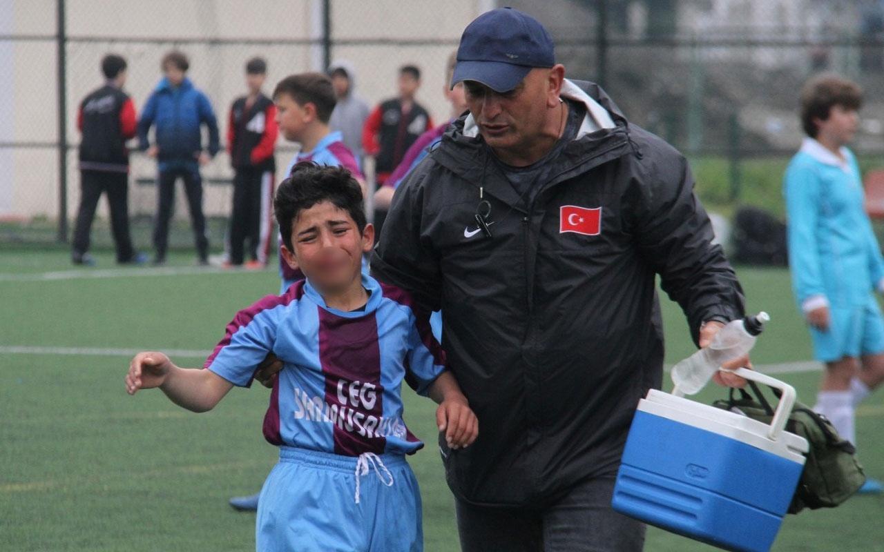 Ağlayarak oyundan çıkan küçük futbolcu o anları anlattı