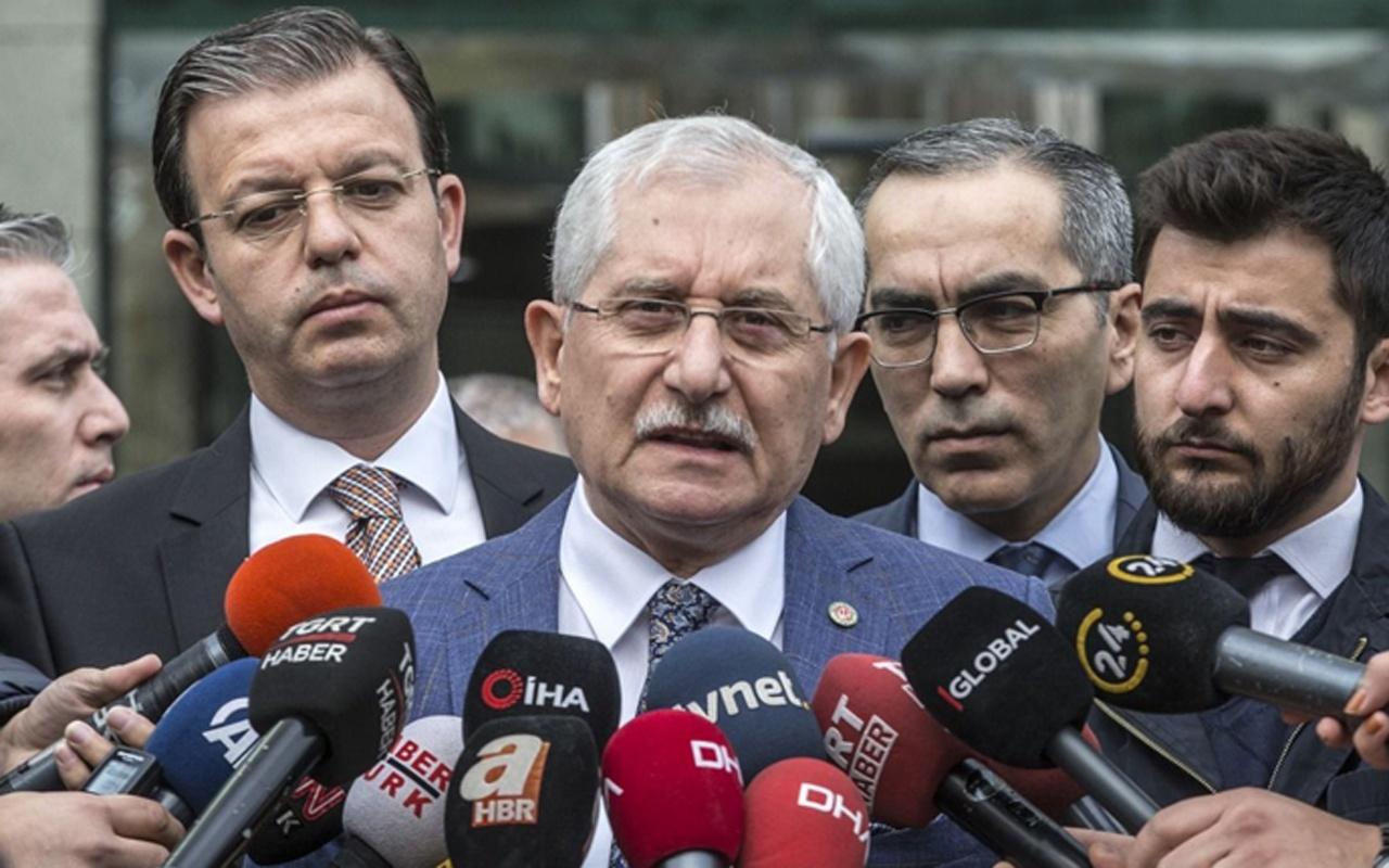 YSK Başkanı Güven iptal kararına böyle karşı çıkmış