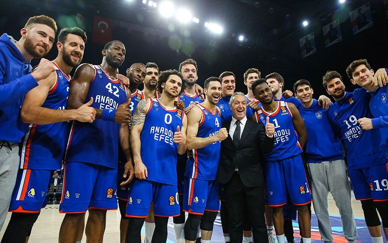Euroleague'de Anadolu Efes-Asvel maçına korona darbesi