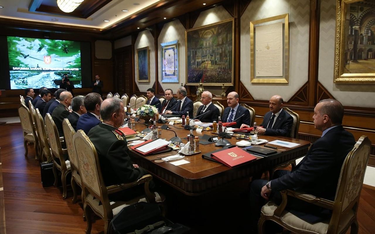 Cumhurbaşkanlığı Kabinesi toplandı! Doğu Akdeniz ve korona zirvesi