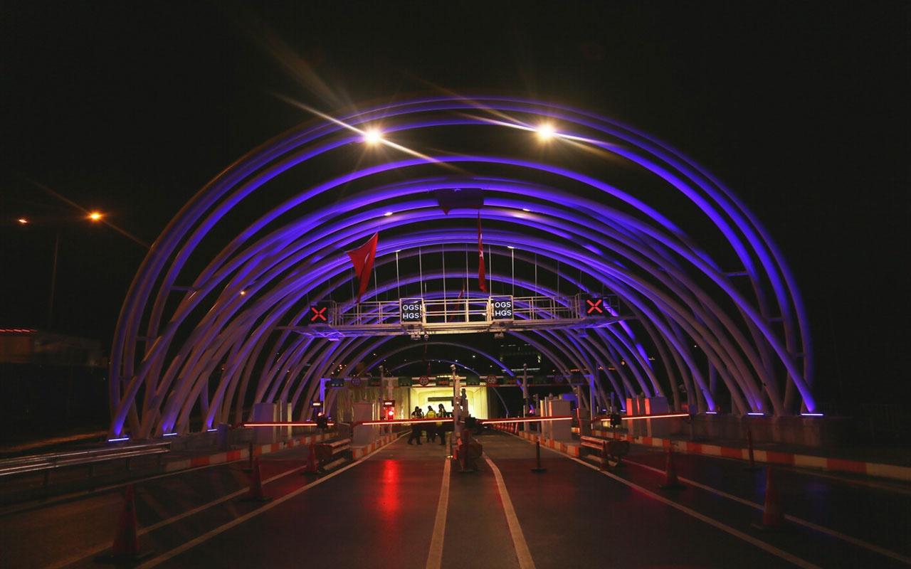Avrasya Tüneli 21 Nisan'da trafiğe kapatılacak
