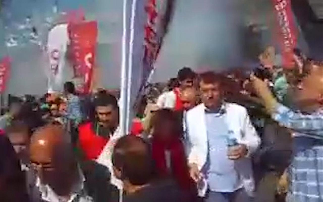 İmamoğlu'nun 1 Mayıs'ta! İşte biber gazı yediği o görüntüler