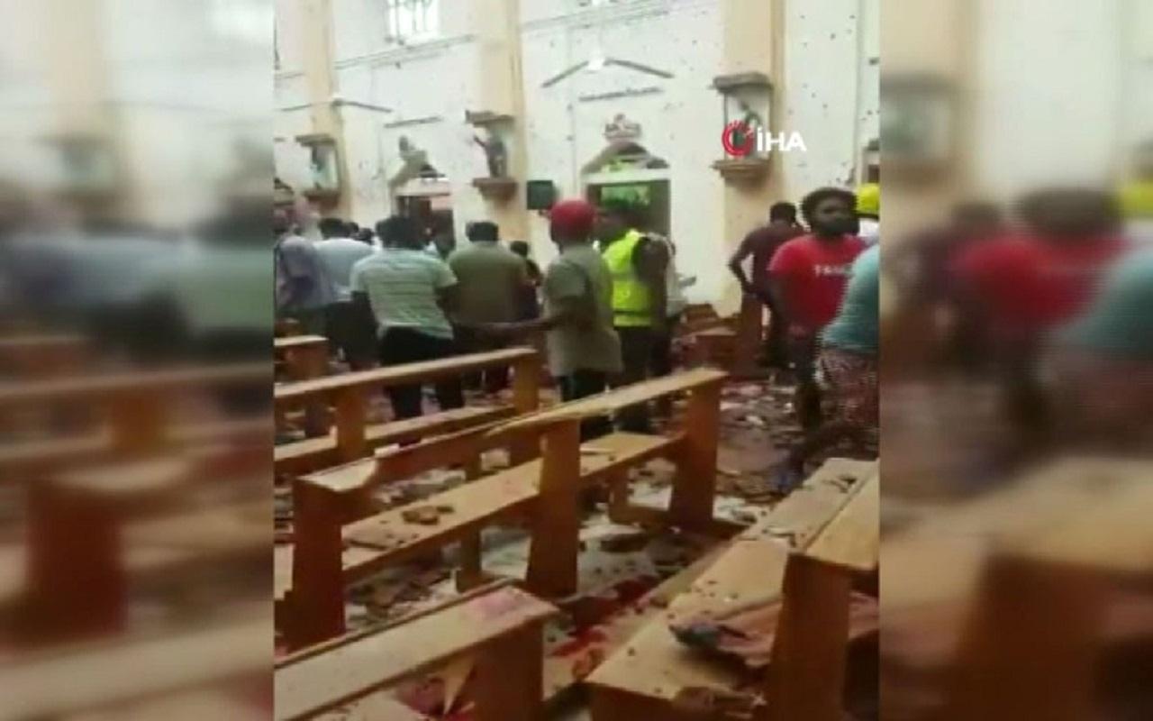 Sri Lanka'da patlama: 52 ölü, 280 yaralı