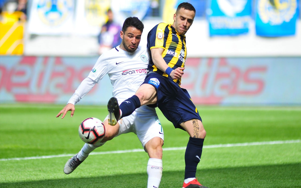 Ankara'da gol sesi çıkmadı Konyaspor 1 puanla evine döndü