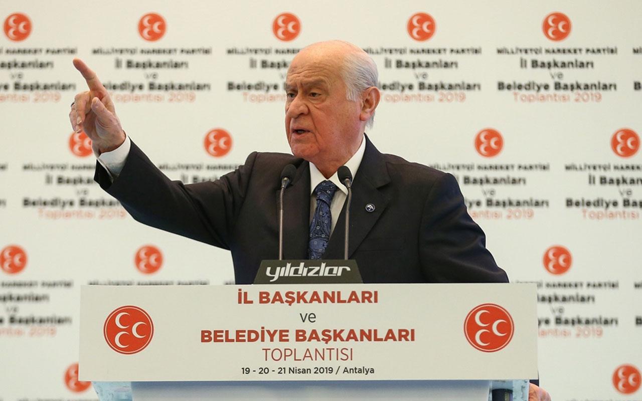 Devlet Bahçeli'den Kominist Başkan Fatih Mehmet Maçoğlu'n olay sözler