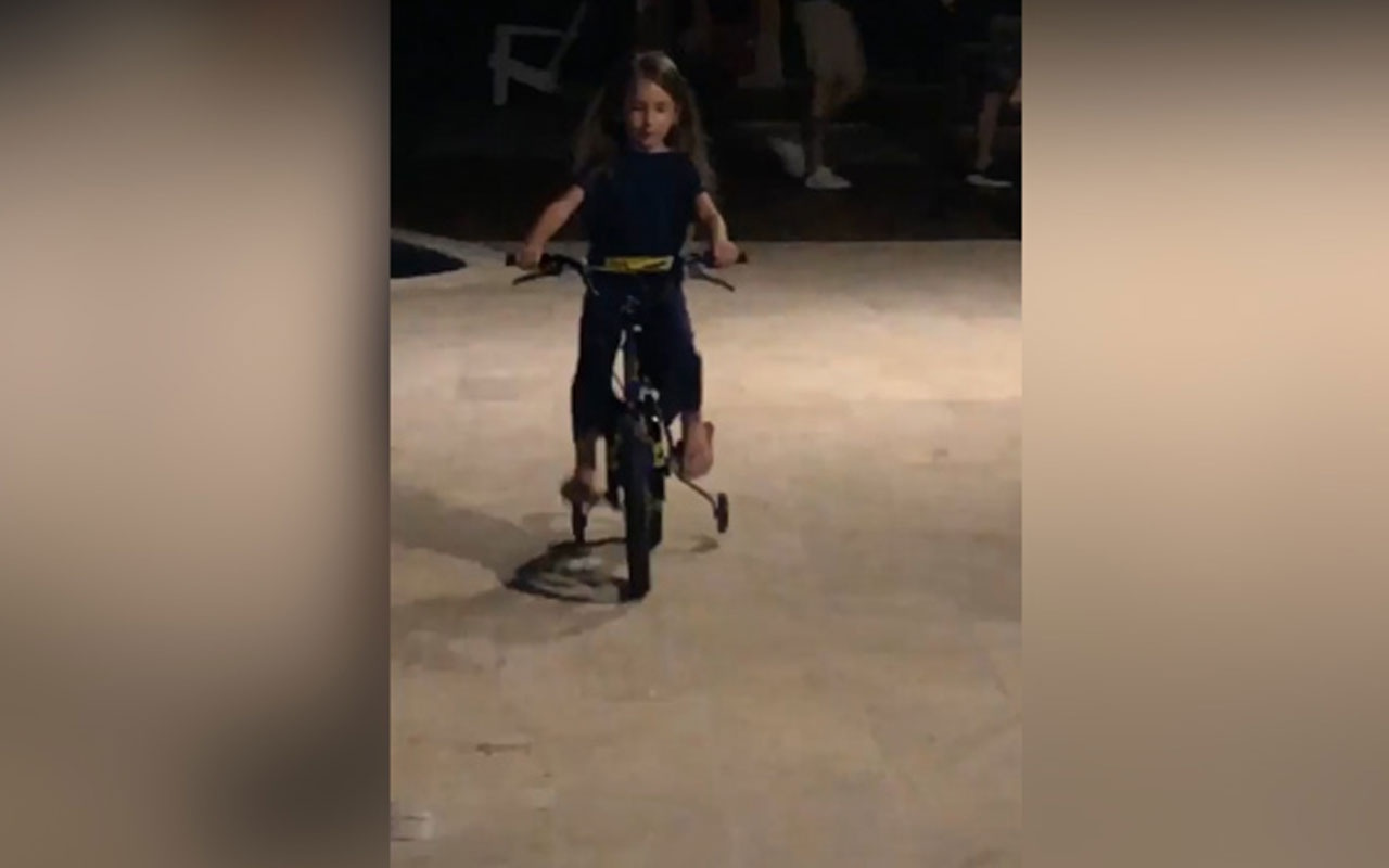 Acun Ilıcalı'nın kızı Melisa bisiklet kazası geçirdi