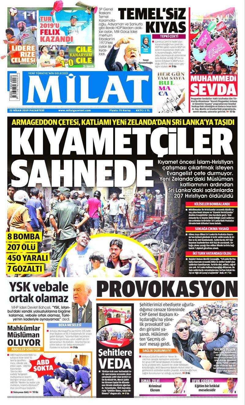 Saldırıya uğrayan Kılıçdaroğlu için hangi gazete ne manşet attı? - Sayfa 12