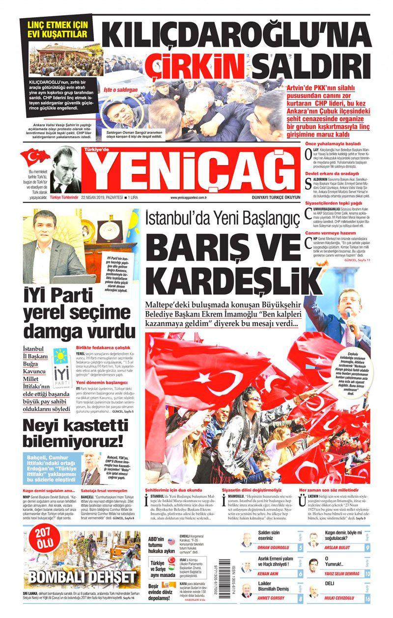 Saldırıya uğrayan Kılıçdaroğlu için hangi gazete ne manşet attı? - Sayfa 11