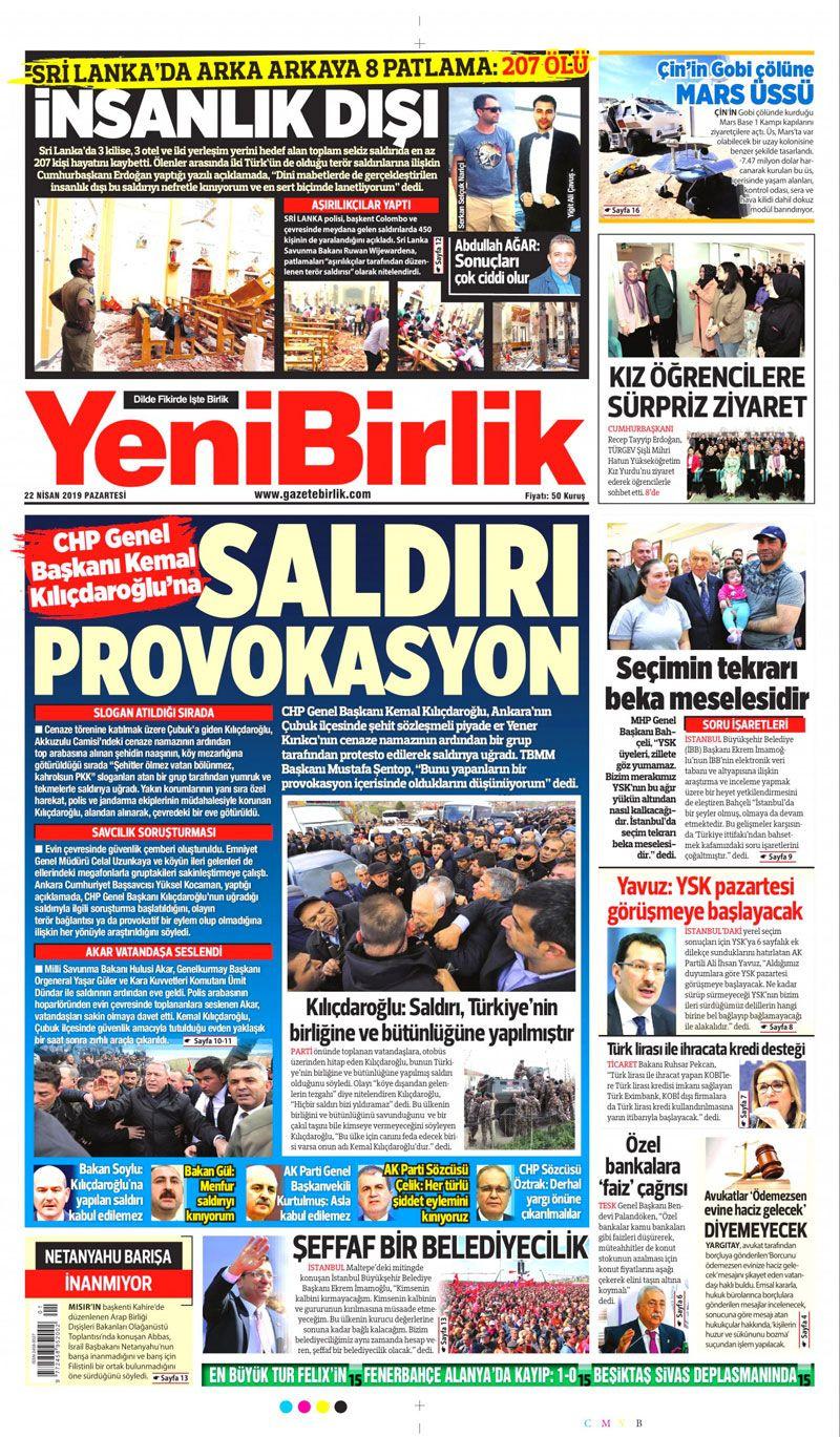 Saldırıya uğrayan Kılıçdaroğlu için hangi gazete ne manşet attı? - Sayfa 18