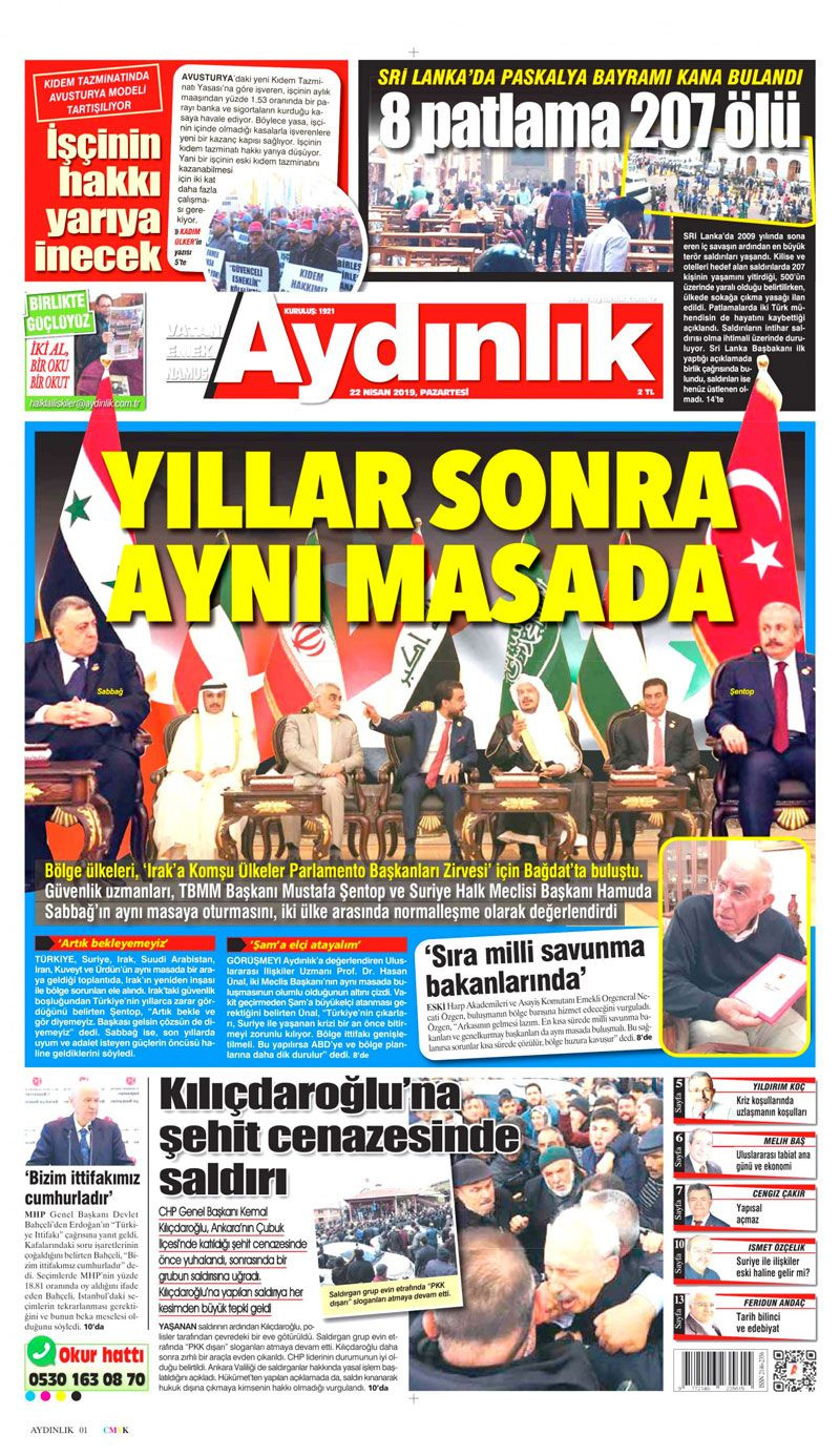 Saldırıya uğrayan Kılıçdaroğlu için hangi gazete ne manşet attı? - Sayfa 19