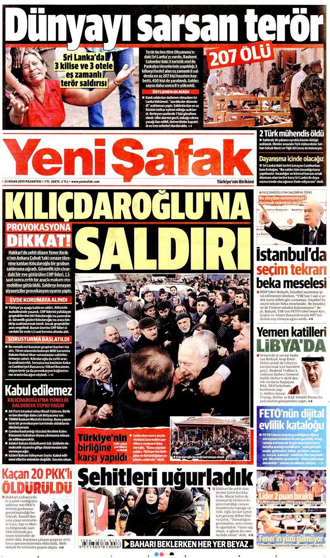 Saldırıya uğrayan Kılıçdaroğlu için hangi gazete ne manşet attı? - Sayfa 4