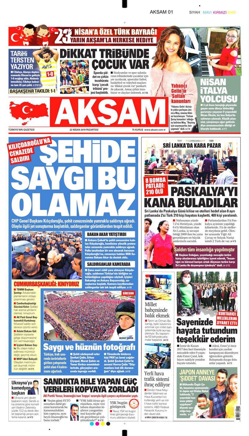 Saldırıya uğrayan Kılıçdaroğlu için hangi gazete ne manşet attı? - Sayfa 5