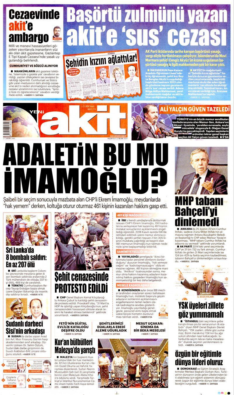 Saldırıya uğrayan Kılıçdaroğlu için hangi gazete ne manşet attı? - Sayfa 9