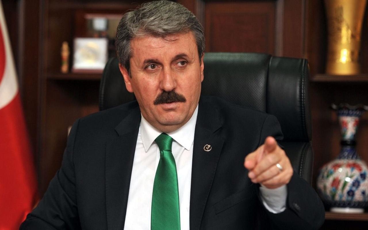 BBP Genel Başkanı Mustafa Destici: Darbe iması yaptıkları açıklama kabul edilemez