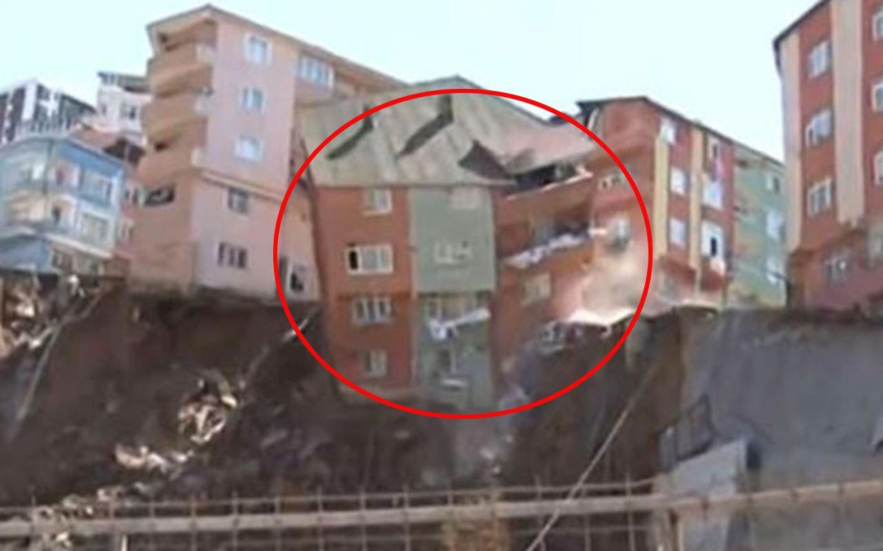 Kağıthane'de canlı yayında çöken binayla ilgili İstanbul Valiliği harekete geçti!