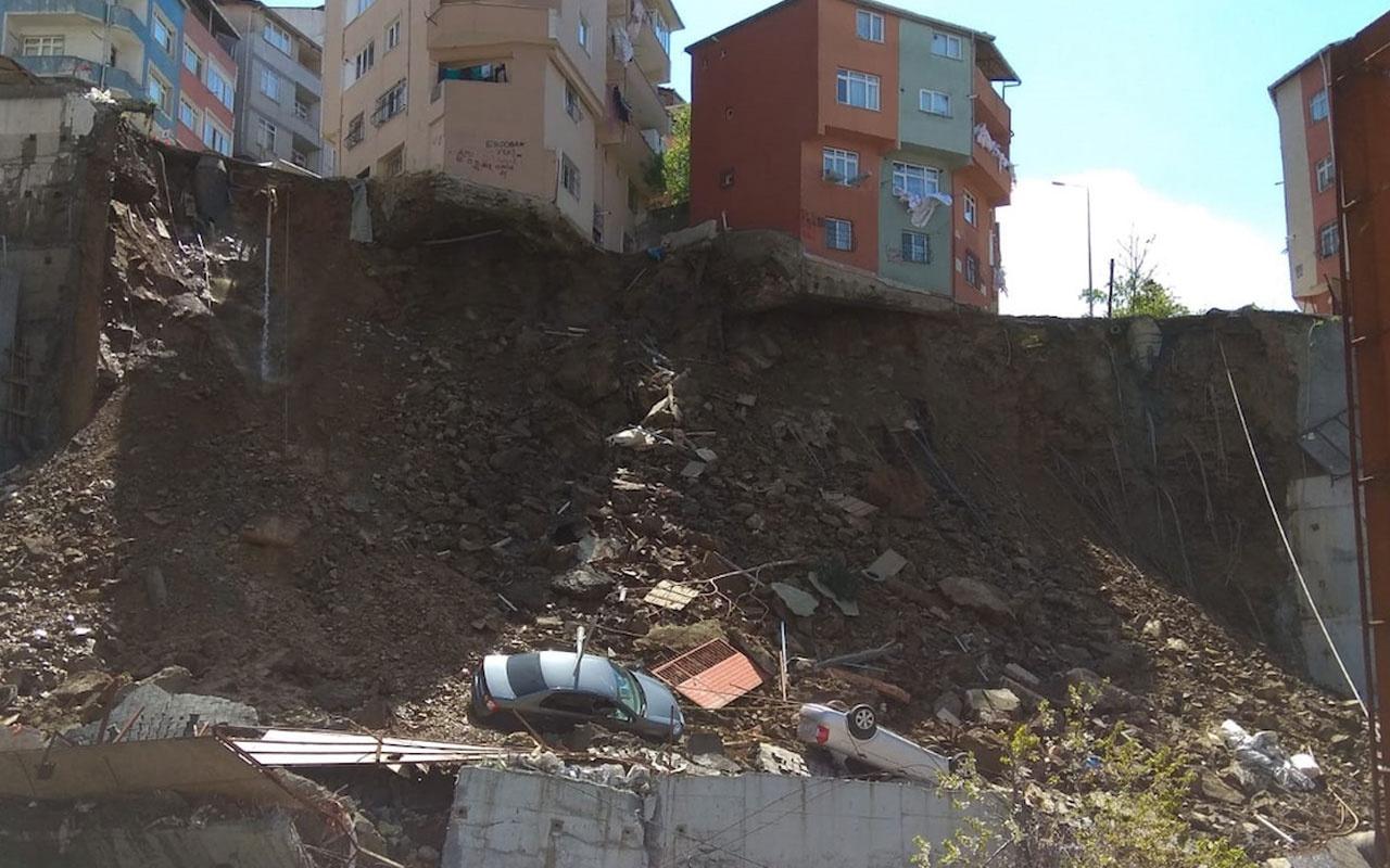 Kağıthane'de 4 katlı bina çöktü! Valilikten ilk açıklama geldi