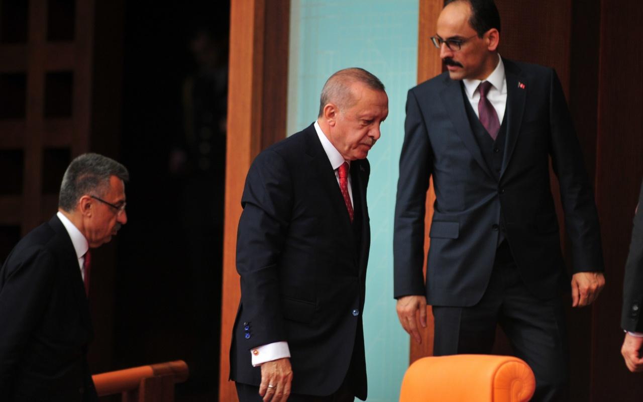 Cumhurbaşkanı Erdoğan'dan Meclis'te HDP'ye olay protesto Oturumu terk etti
