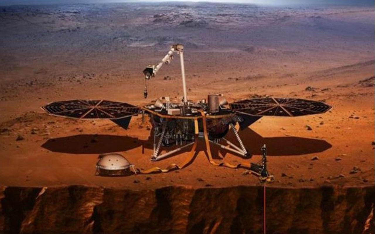 NASA'dan bir ilk! Mars'ta gözlemlendi