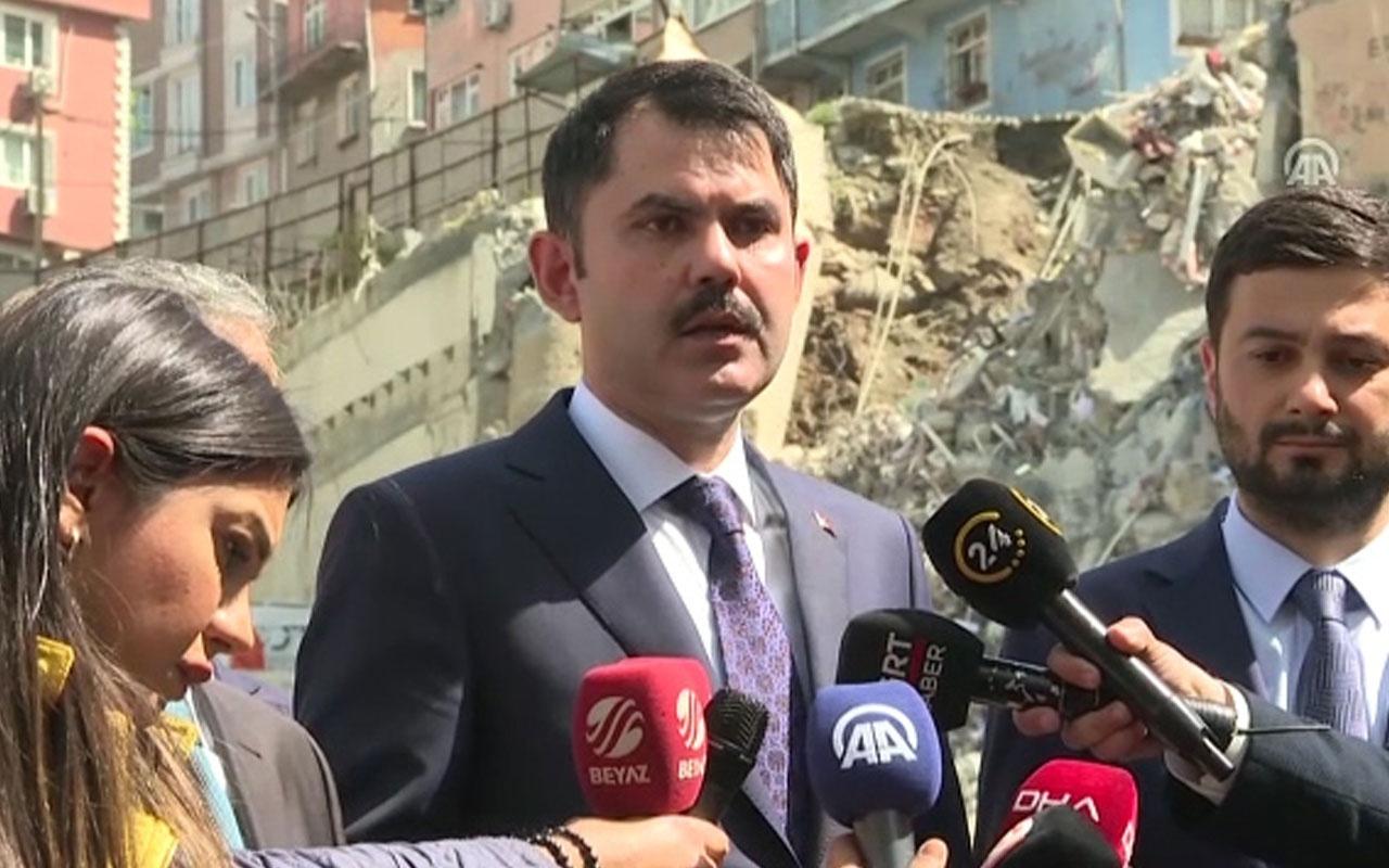 Murat Kurum'dan son dakika kentsel dönüşüm açıklaması!