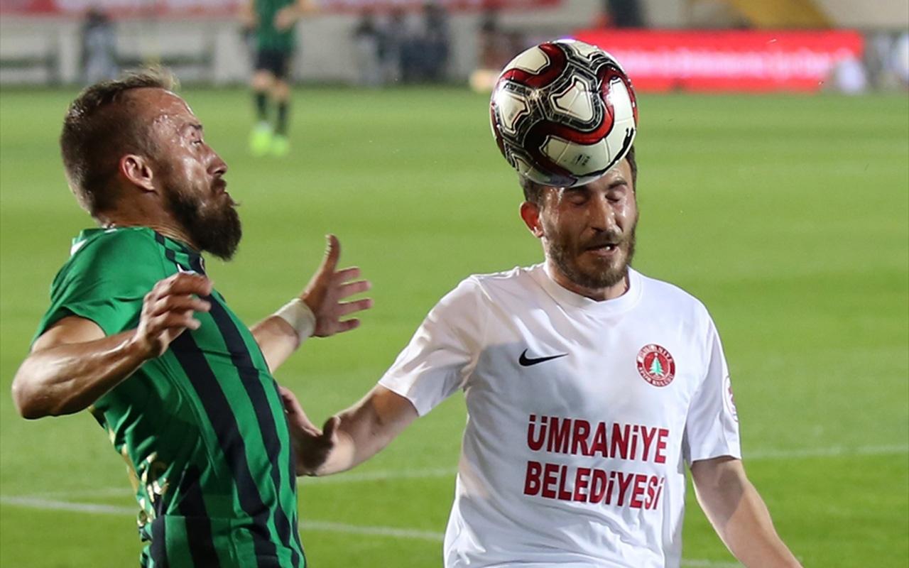 Akhisarspor Ziraat Türkiye Kupası'nda ilk finalist oldu