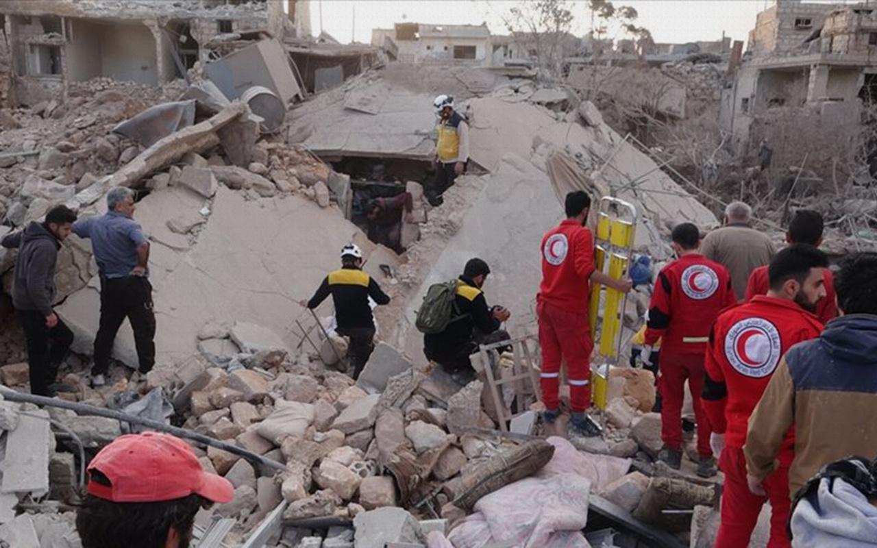Katil Esad rejiminden bir alçak saldırı daha! Şimdi de sivilleri katletti