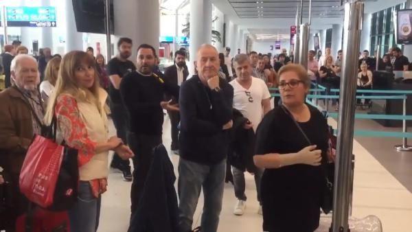 Havalimanında görevliye hakaret eden kadın kim? Funda Esenç'in gerçek hali