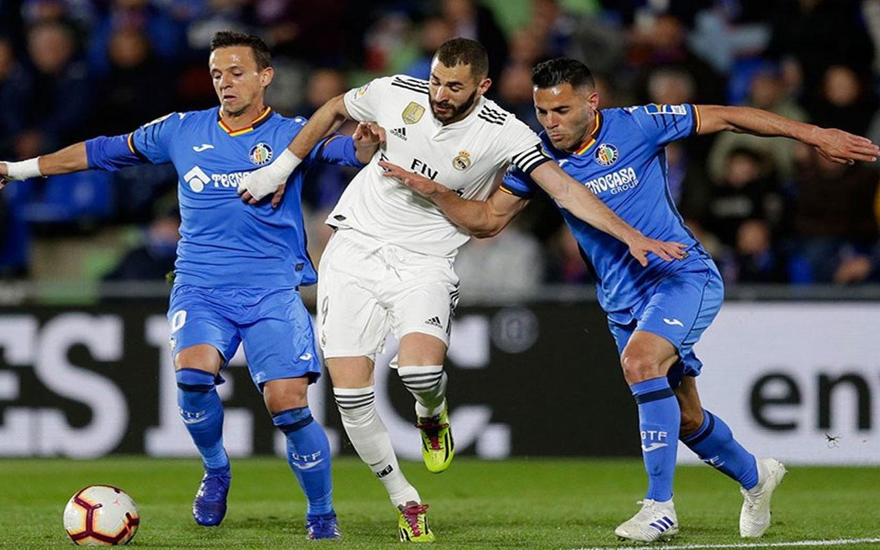 Real Madrid ve Getafe 1'er puanı paylaştı