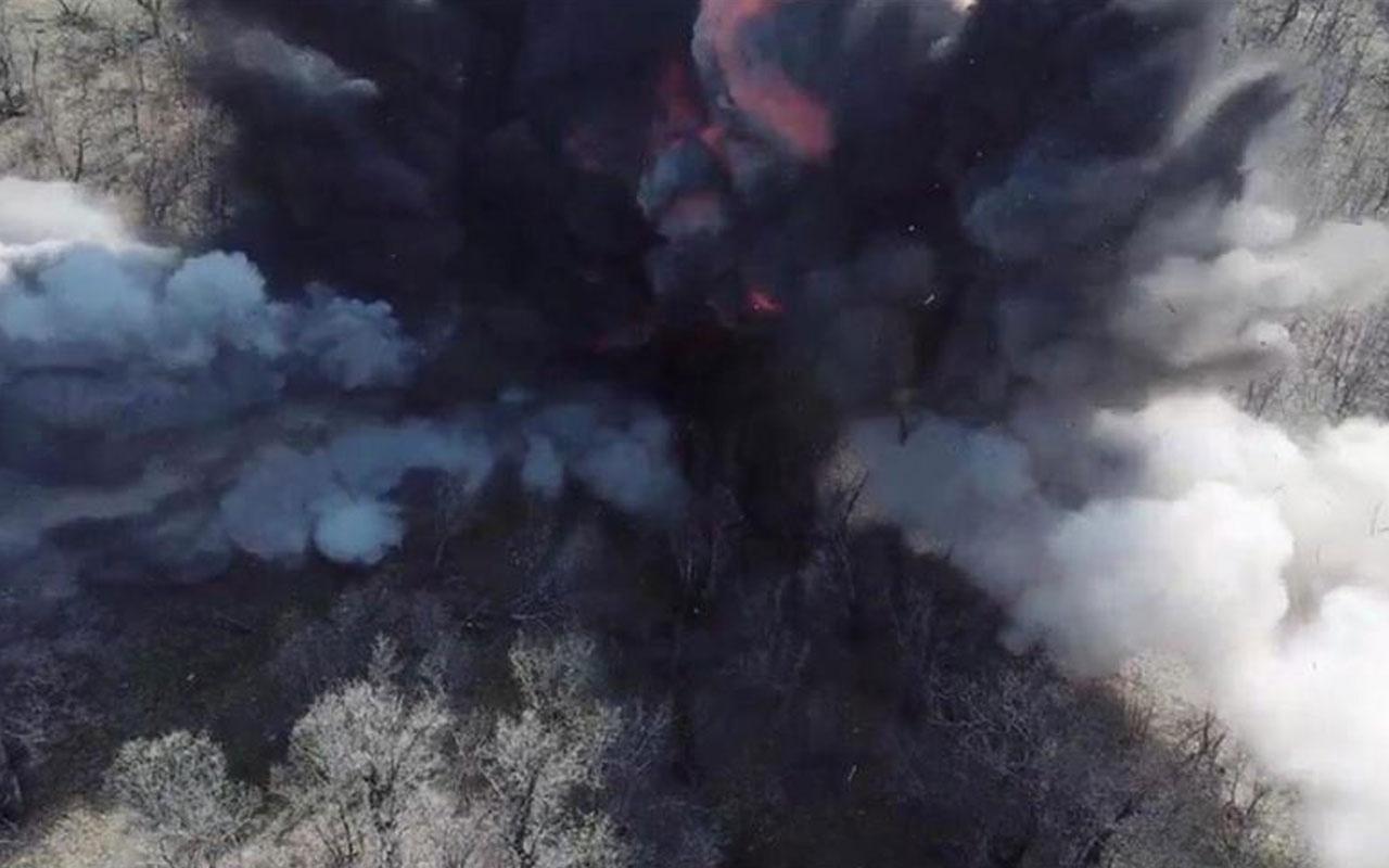 Şırnak'ta PKK'lı teröristlere ait 36 sığınak ve barınak imha edildi