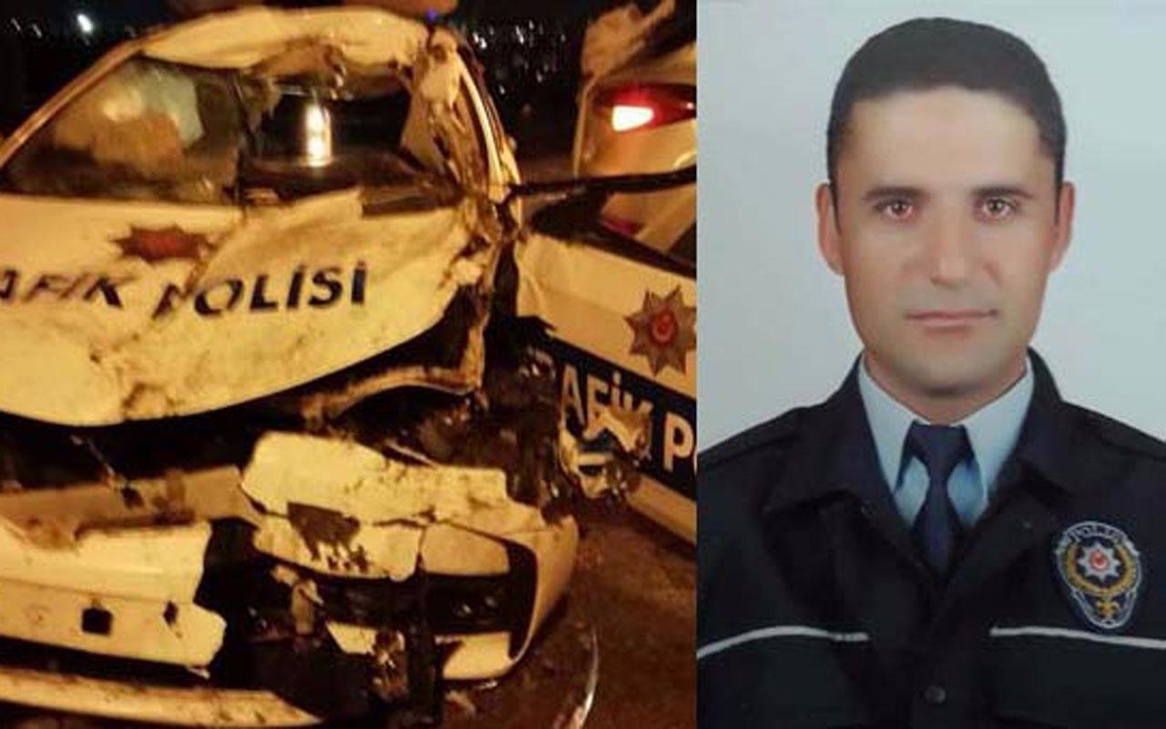 Eskişehir'de kaza geçiren trafik polisi hastanede şehit oldu