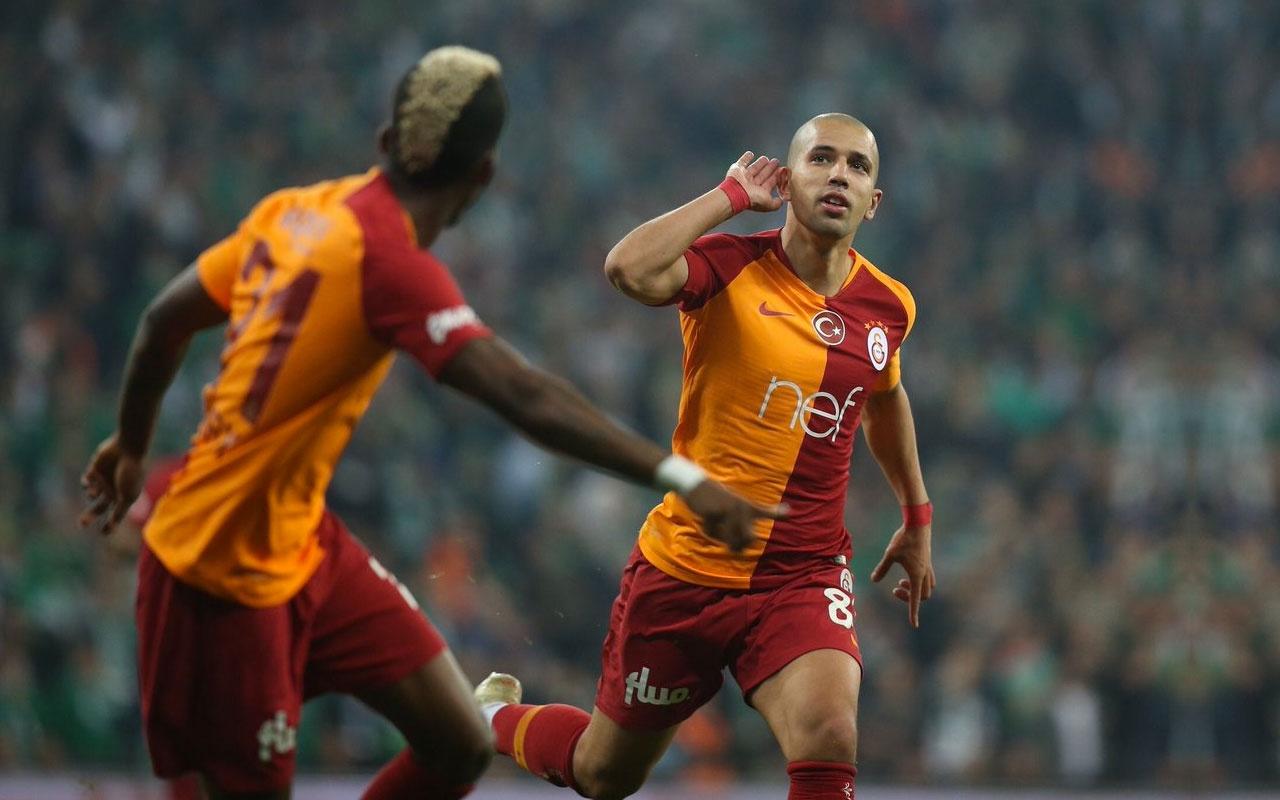 Feghouli Galatasaray'la ilgili kararını verdi