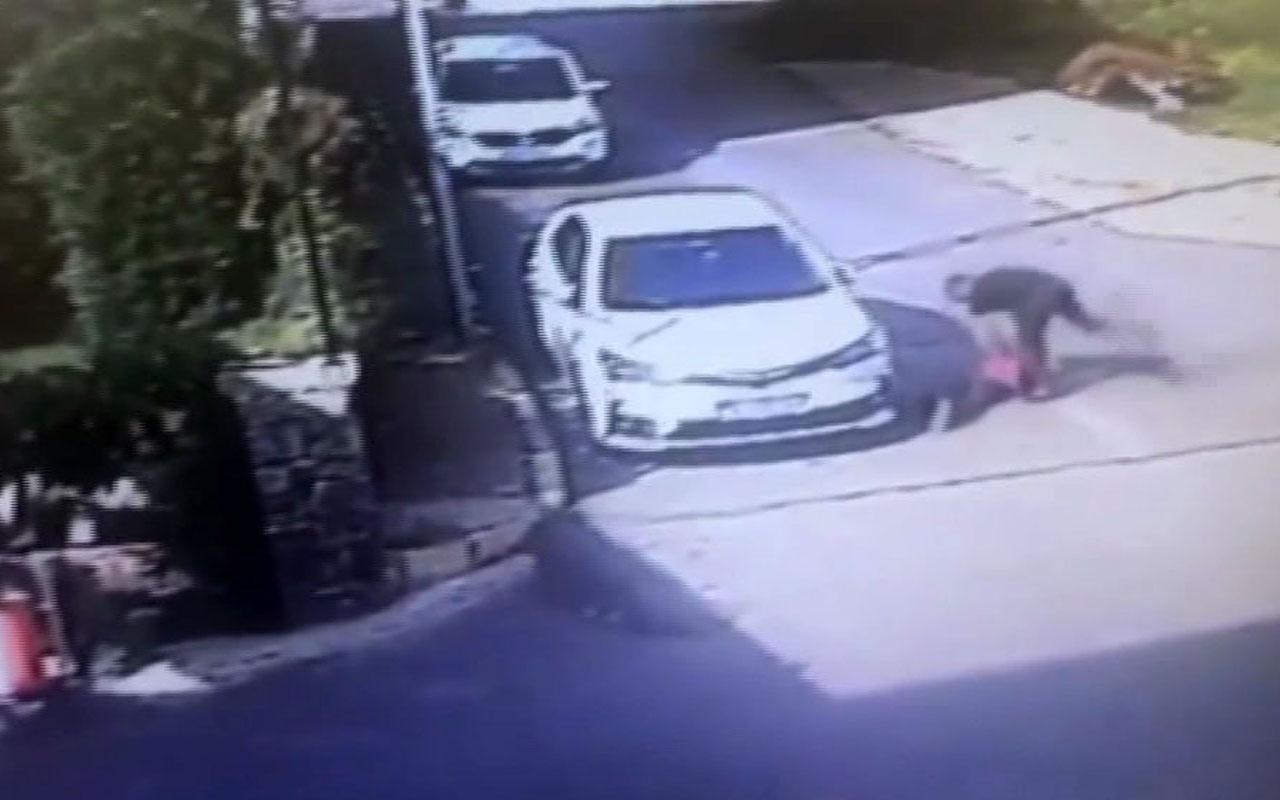 Magandanın küçük çocuğa ölümüne dayağı kamerada