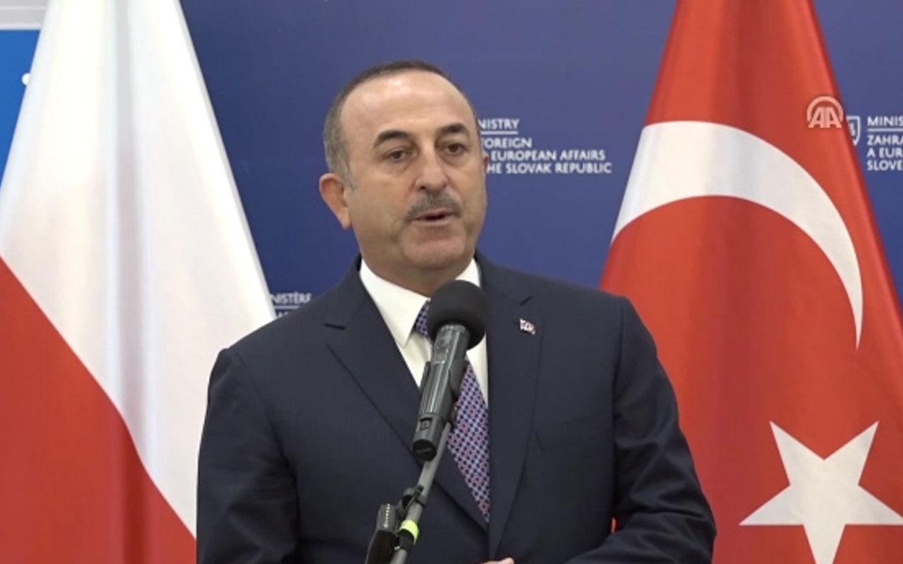 """Dışişleri Bakanı Çavuşoğlu: """"AB bizi almak istemiyorsa kararını vermeli"""""""