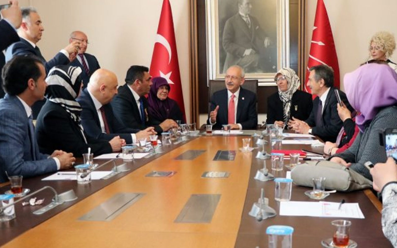 Şehit ailelerinden Kılıçdaroğlu'na destek
