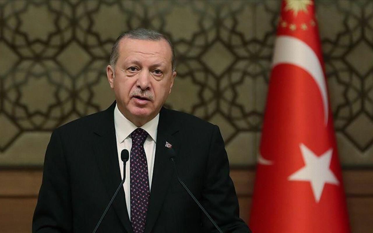 Cumhurbaşkanı Erdoğan'dan Sahil Güvenlik Komutanlığı'na tebrik mesajı