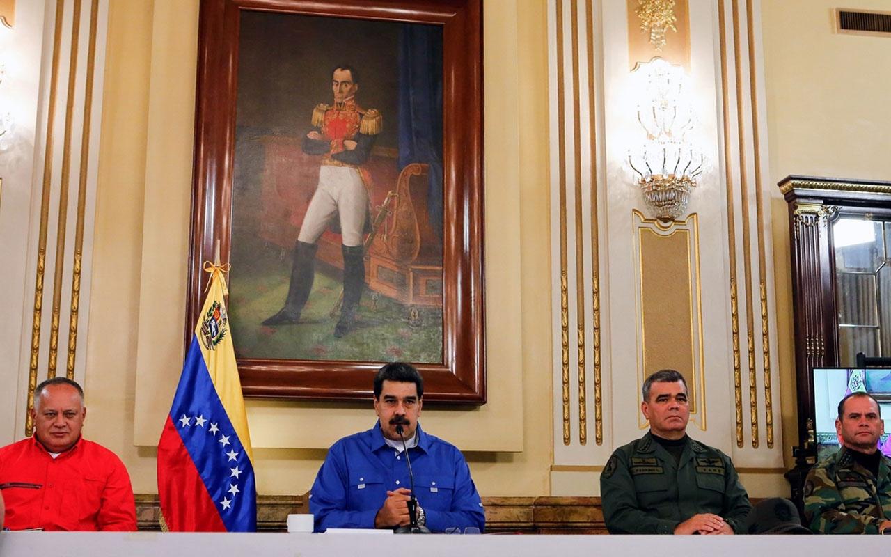 Venezuela Devlet Başkanı Nicolas Maduro: Bu darbe girişimi cezasız kalmayacak