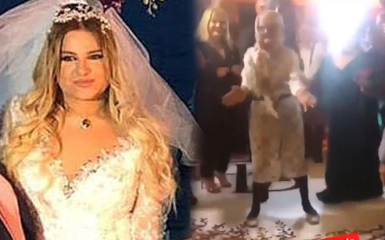 Kibariye'nin kızı Birgül Küçükbalçık evlendi annesi Makbule Tokmak böyle oynadı