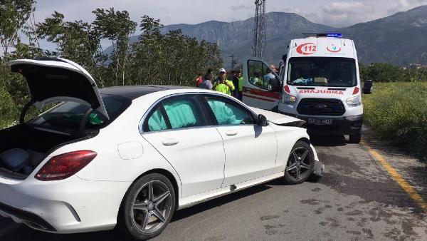 İşçi servisiyle otomobil çarpıştı 5 yaralı - Sayfa 2