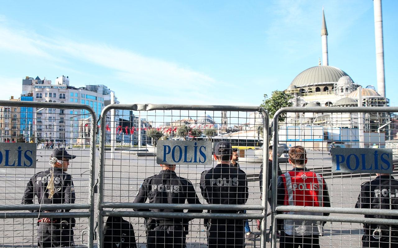 1 Mayıs Emek ve Dayanışma Günü Taksim'de güvenlik önlemleri