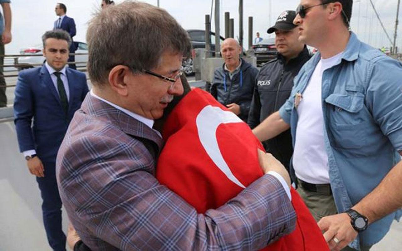 Ahmet Davutoğlu'dan 'intihar girişimi kurguydu' iddialarına olay cevap