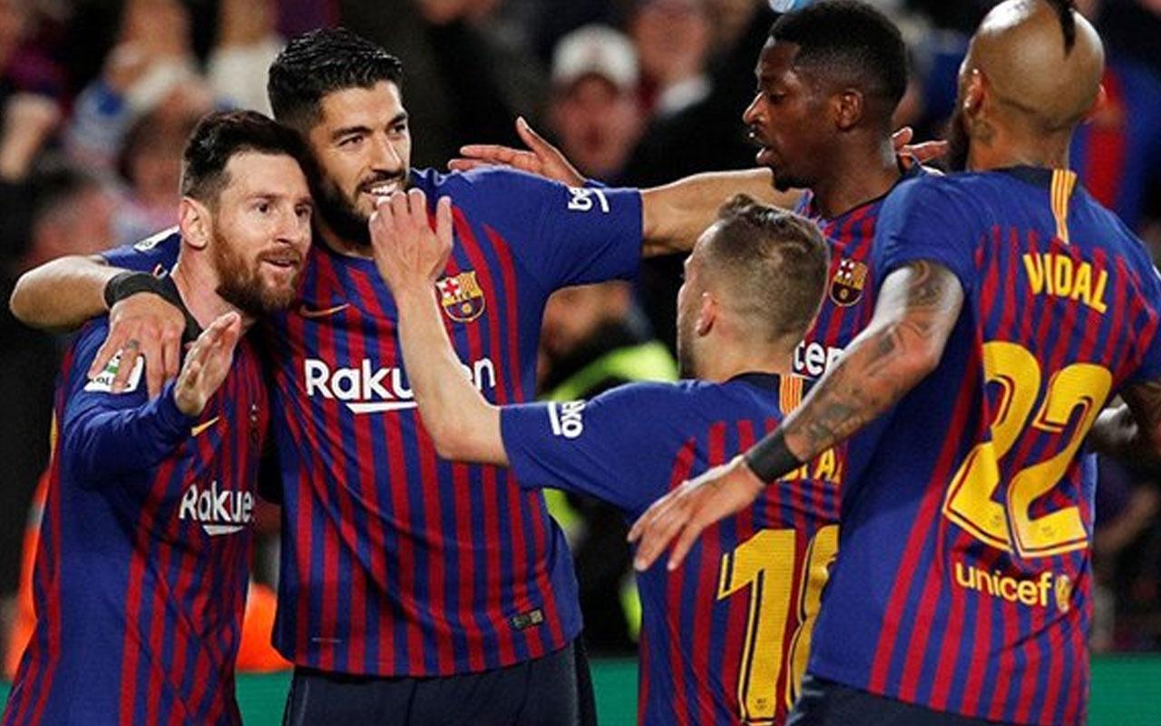 Barcelona, sahasında Liverpool'u farklı geçti