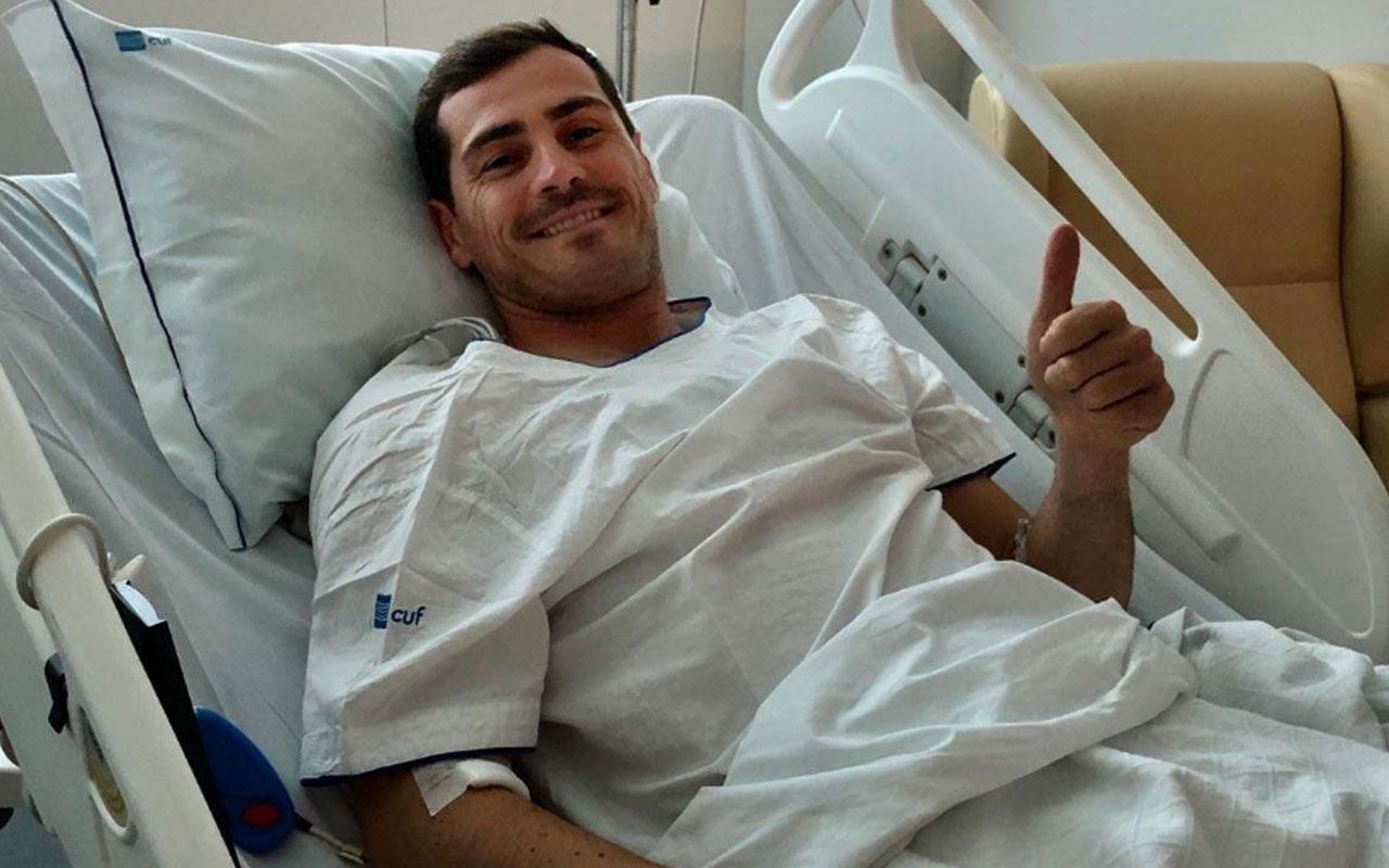 Kalp krizi geçiren Casillas'tan mesaj
