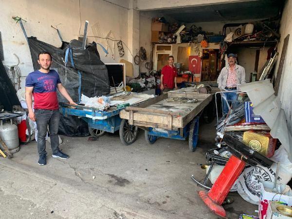 Ümraniye'de sokaklarda hurda topluyor! 5 tane şirketi var - Sayfa 2