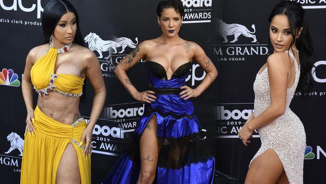 2019 Billboard Müzik Ödülleri sahiplerini buldu kırmızı halıdan görüntüler