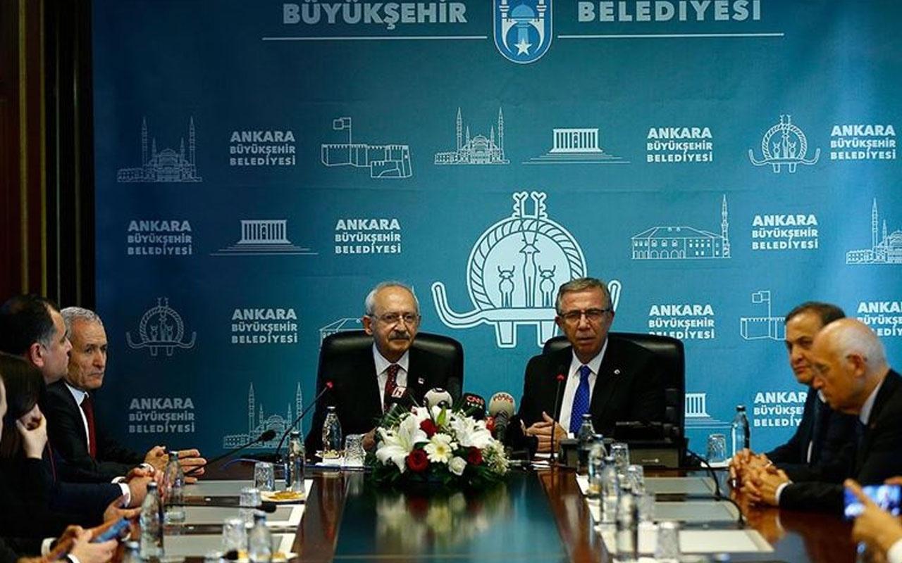 Kılıçdaroğlu'ndan Yavaş'a ziyaret