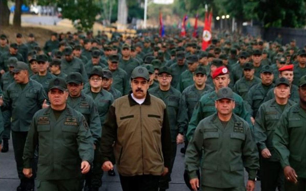 Maduro'dan darbecilere gövde gösterisi