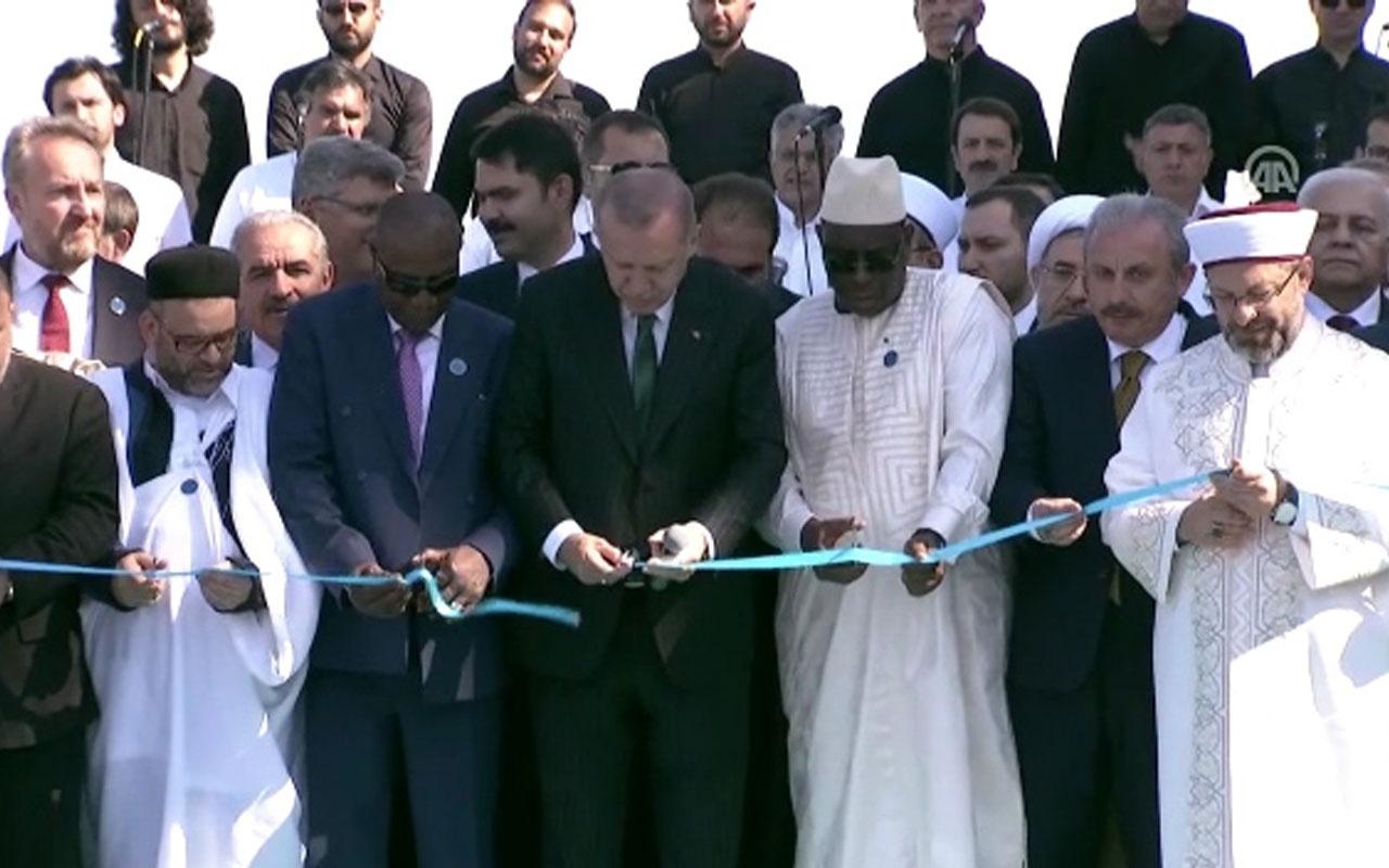 Büyük Çamlıca Camisinin açılışı yapıldı