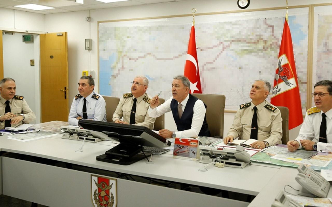 Milli Savunma Bakanı Akar: 28 teröristi etkisiz hale getirdik