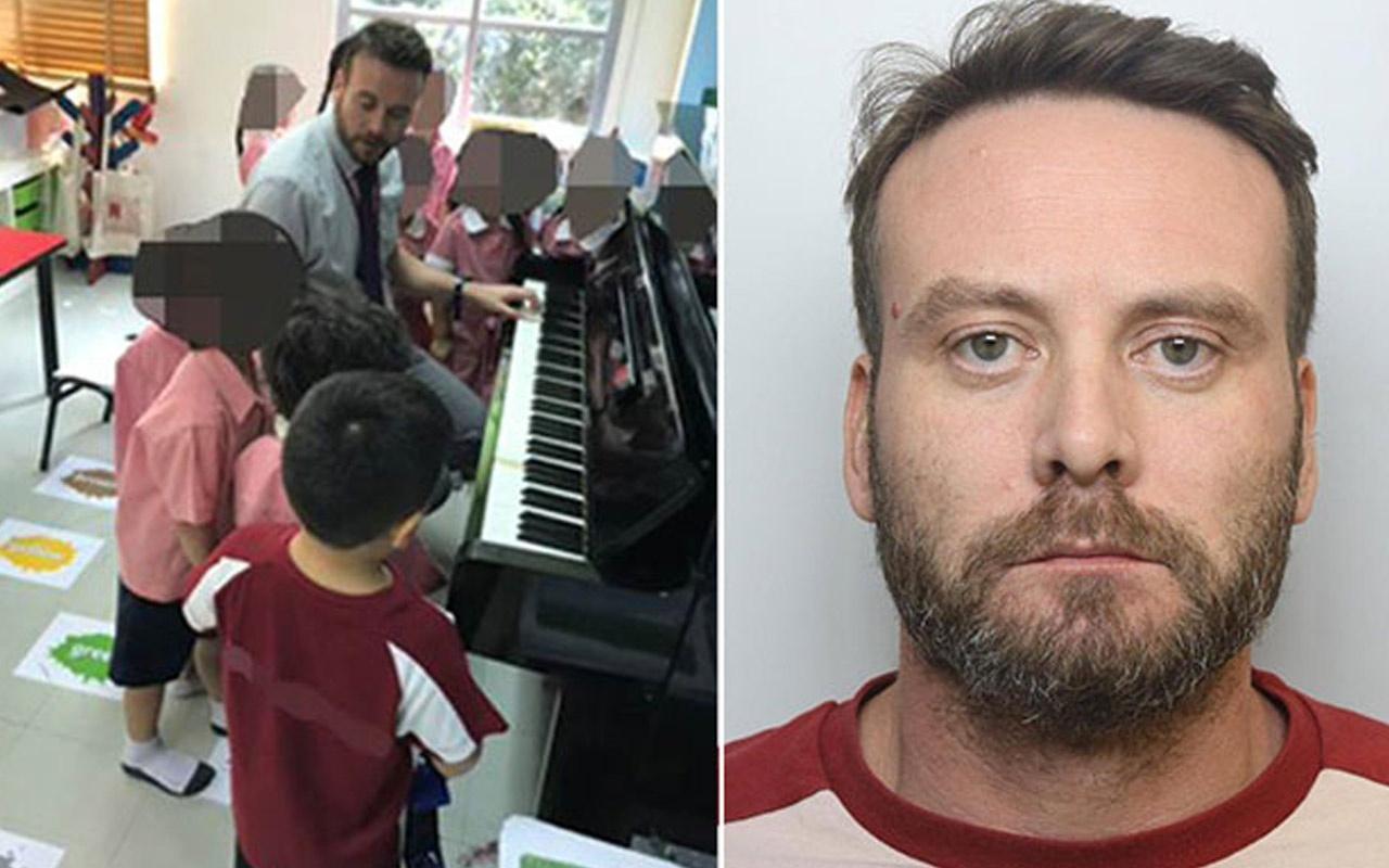 Pedofil müzik öğretmenine hapis