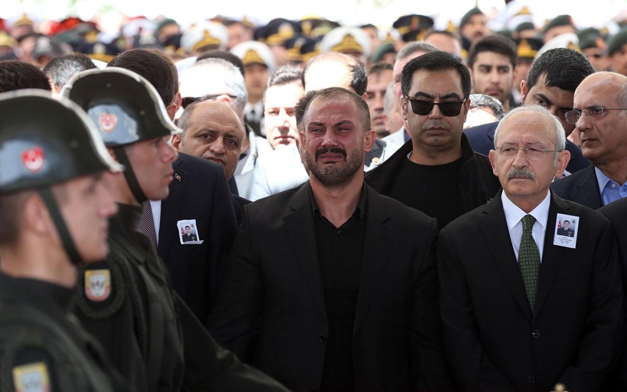 Kemal Kılıçdaroğlu şehit Celaleddin Özdemir'in cenaze törenine katıldı