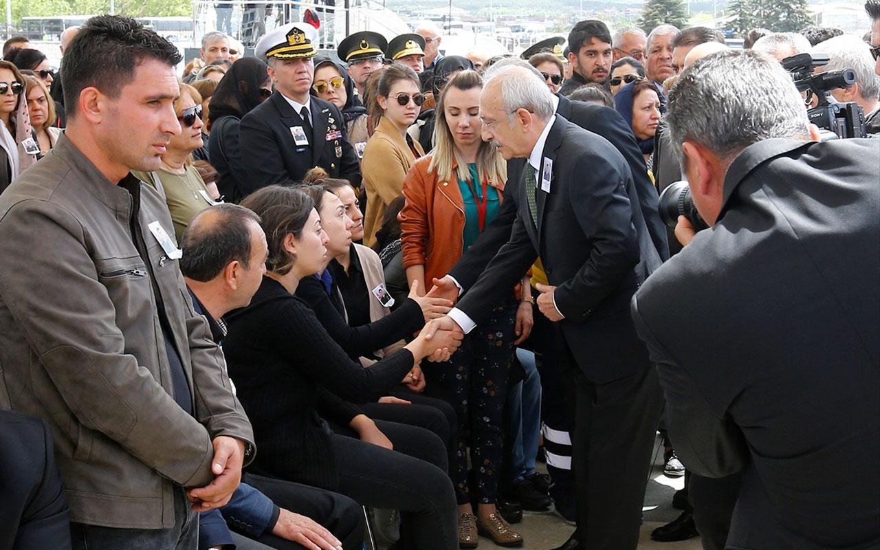 Kemal Kılıçdaroğlu saldırı sonrası ilk kez şehit cenazesine katıldı